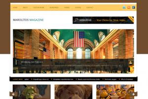 Тема Marolitos Magazine для WordPress