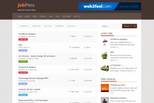 Тема Jobpress для WordPress