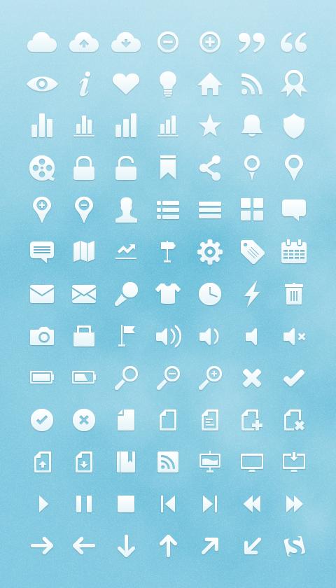 Векторные иконки для сайта