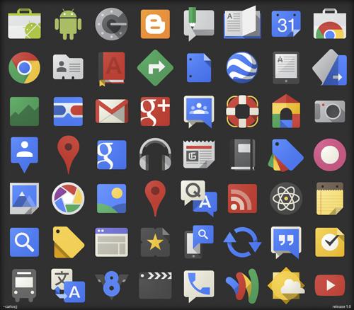 Скачать иконки приложений google