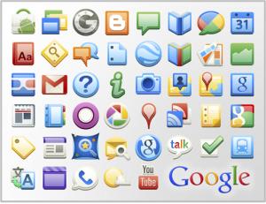 Скачать иконки google приложений