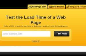 проверка скорости загрузки сайта