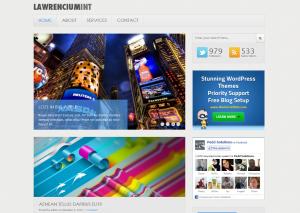 Тема для WordPress - Lawrenciumint