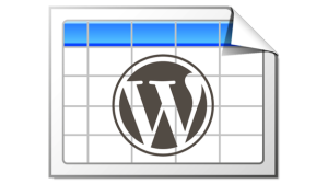 Плагин для WordPress - WP-Table Reloaded