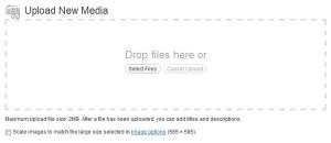 Upload new-media WordPress 3.3, новый медиа-загрузчик