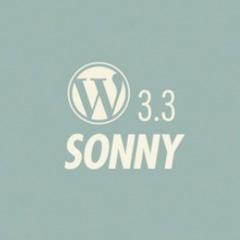 "WordPress 3.3 ""Sonny"""