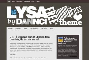 Тема Lysa для WordPress