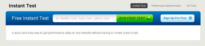 Сервис для проверки скорости загрузки сайта browsermob