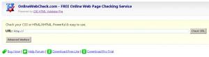 Сервис для проверки HTML/XHTML и CSS