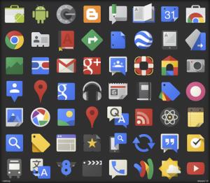 Иконки приложений google