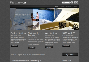 Тема для WordPress - Fermiumize