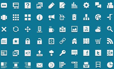 60 иконок для сайта