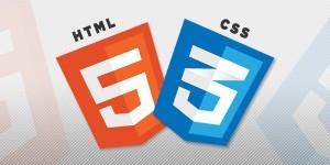 html5 и css3 логотипы