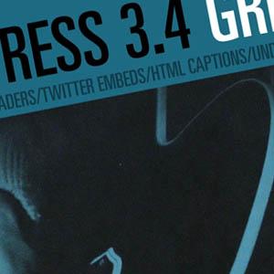 WordPress 3.4 GREEN