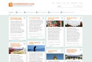 Тема для WordPress – Sampression Lite