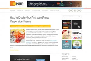 Тема для WordPress - Patus