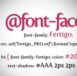 Свойство CSS3 font-face