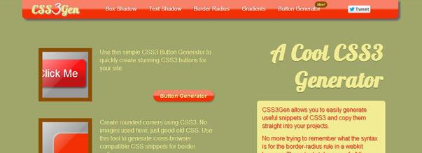 CSS3Gen - CSS3 заготовки