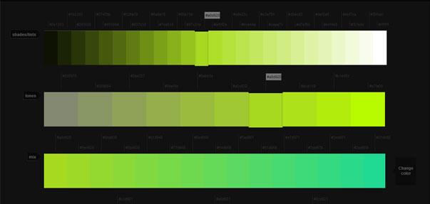 Colllor - последовательная цветовая палитра